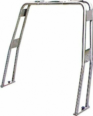 Roll-Bar ανοξείδωτο ισιο Υψος 120mm διαμετρος 40mm