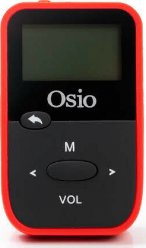 Osio SRM-7880BR MP3 player με κλιπ 8 GB