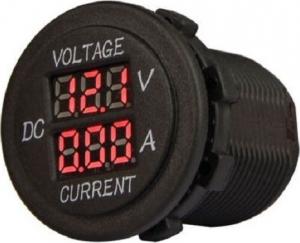 FOUR Mobile 4-600155.Βολτομετρο/Αμπερομετρο 12-24V