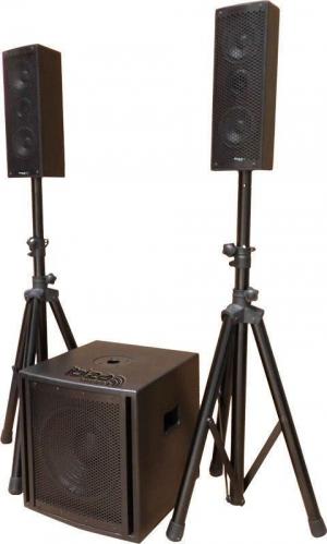 CUBE104  Τριφωνικό ηχοσύστημα 2.1 10''/25CM.