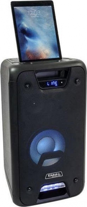 IBIZA FREESOUND300 Αυτόνομο φορητό ηχείο 300W.Με LED Eφφε