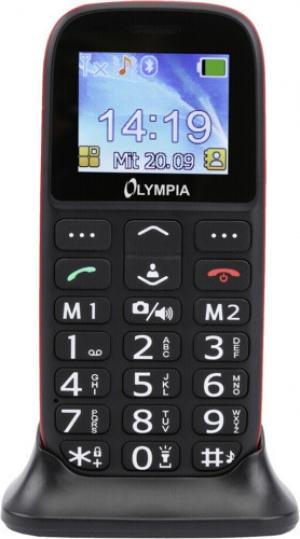 Olympia BELLA GR (Ελληνικό Μενού) Κινητό τηλέφωνο για ηλικιωμένους με SOS και κάμερα
