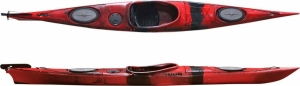 SCK Dreamer Plus Red/Black μονοθέσιο sιt-in καγιάκ - Κόκκινο/Μαύρο