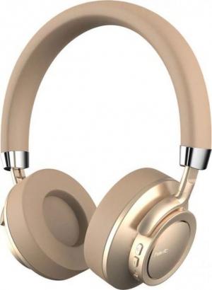 Havit F9 Gold  Ασύρματα Ακουστικά