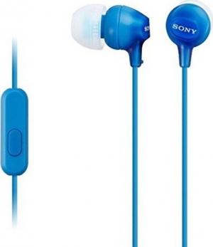 Sony MDR-EX15AP Ακουστικα Handsfree Μπλε