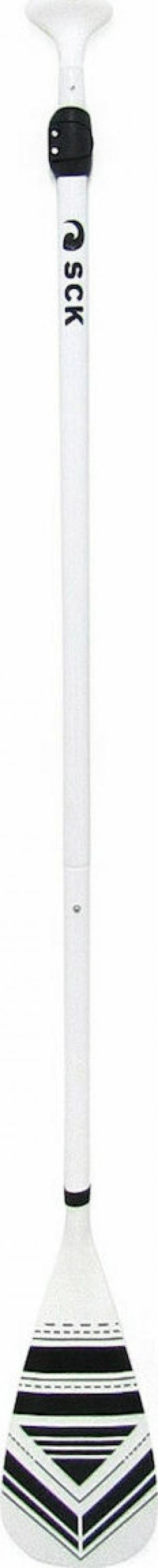 SCK PDL3-ALU2 Ρυθμιζομενο κουπί αλουμινίου 170-215cm Λευκό