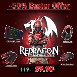 Gaming Πακέτο - Redragon '