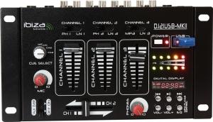 Ibiza DJ21USB-MKII USB μίκτης ήχου