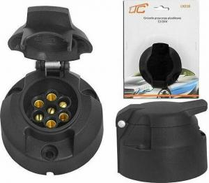 Υποδοχή για Ρυμουλκούμενα 7PIN Πλαστική με Καπάκι DM-0516LX