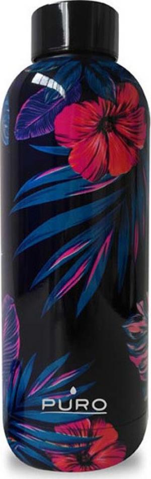 Puro Hot Cold Flowers Bottle 500ml – Σκούρο Μπλε
