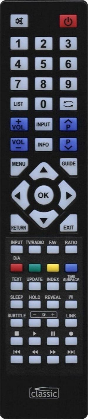 CL-IRC87003 Classic τηλεχειριστήριο για LG LCD-TV