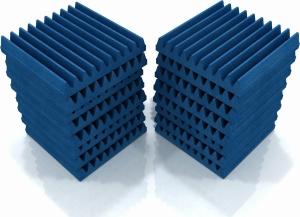 EQ Acoustics Classic Wedge 30 Acoustic Blue Ηχοαπορροφητικό Αφρού 5cm (16 Τεμάχια)