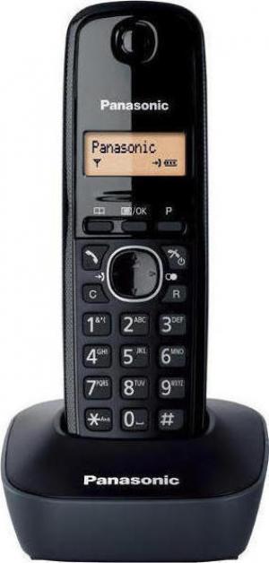 Panasonic KX-TG1611 Μαύρο/Γκρί