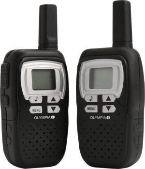Olympia 1208 PMR walkie talkie 8km μαύρο