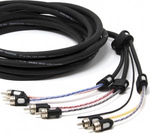 Connection BT6 550.Καλώδιο Σήματος 6 RCA