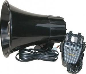 Ltc Audio PAG30 ενισχυτής με κόρνα μικρόφωνο και σειρήνα. 12V.