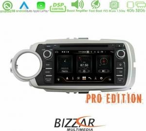 Bizzar Pro Edition Toyota Yaris 2012-2019 Android 10 8core Navigation Multimedia