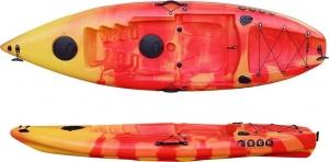 SCK Purity Plus μονοθέσιο καγιάκ - Κόκκινο/Κίτρινο RYM01-PU-RD-YL