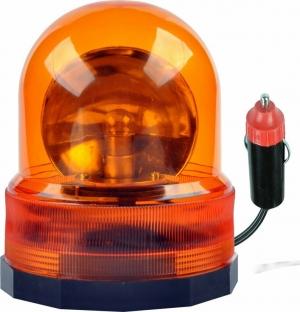 Φάρος Μαγνητικός 12V DC Πορτοκαλί DM-0070
