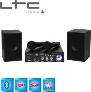 LTC Audio Σύστημα Karaoke με Ενσύρματα Μικρόφωνα STAR2MKII σε Μαύρο Χρώμα