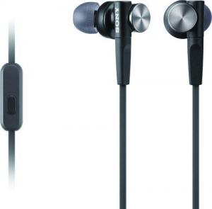 Sony MDR-XB50AP In-ear Handsfree με Βύσμα 3.5mm Μαύρο