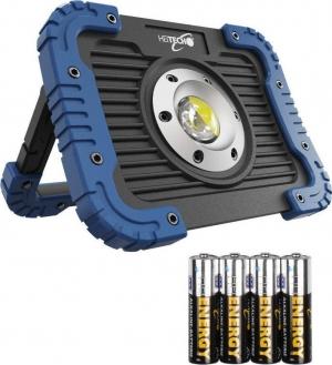 Heitech 04003641 Ανθεκτικός φακός συνεργείου με COB LED 5 W