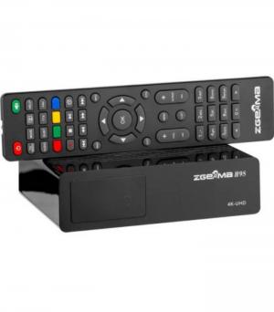 Zgemma H9S Δορυφορικός δέκτης DVB-S2X 4K UHD H.265 HEVC LAN LINUX