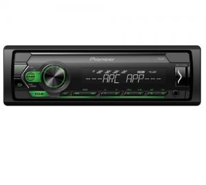Pioneer MVH-S120UBG  Ράδιο USB/AUX Με Πράσινο Φωτισμό Πλήκτρων