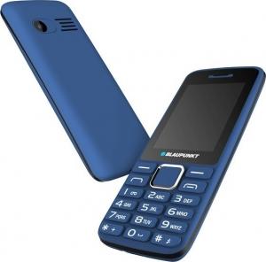 "Blaupunkt FM03 Mazarine Κινητό τηλέφωνο με κάμερα 1,3 MP και LCD οθόνη 2,4"" – Μπλε"