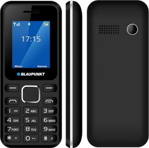 """Blaupunkt FS04 Black/Silver Κινητό τηλέφωνο με κάμερα 0,3 MP και LCD οθόνη 1,8"""""""