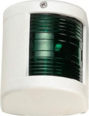 Φανός Πλευρικός 12V LED Μεγαλος Πρασινος με Λευκό Κέλυφος