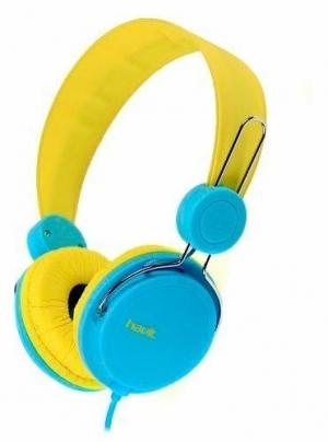 Havit HV-2198d Yellow/Blue  Καλωδιακά Ακουστικά