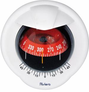 Riviera Πυξίδα Polare BP1 Μπουλμε Λευκό- Κόκκινο