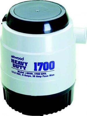 Αντλίες Σεντίνας Βυθιζόμενες Heavy Duty Attwood 1700GPH-12V