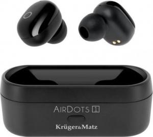 Kruger & Matz Airdots 1 Ασύρματα Ακουστικά Μαύρο