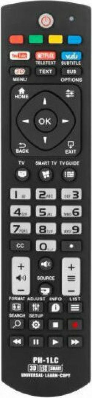 PIL1042 Universal τηλεχειριστήριο για τηλεόραση LED/LCD Philips