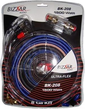 Bizzar Σετ Καλωδίων Ενισχυτή Αυτοκινήτου 8GA έως 1500W