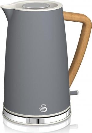 Swan 1.7L Nordic Cordless Kettle – Βραστηρας Γκρι