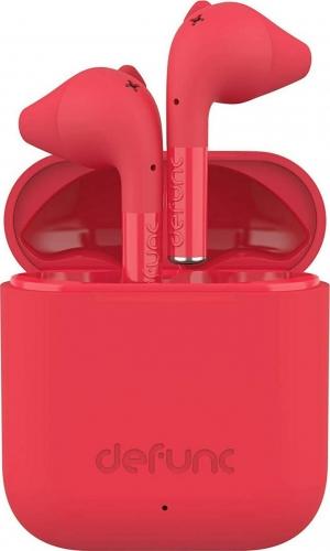 Defunc True Go Earbud Bluetooth Handsfree Κόκκινο