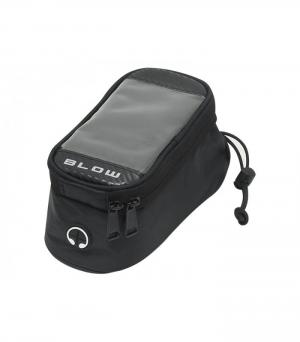 BLOW DM-75-391 Αδιάβροχη Βάση Κινητού για Μηχανή-Ποδήλατο 90x90x200 mm
