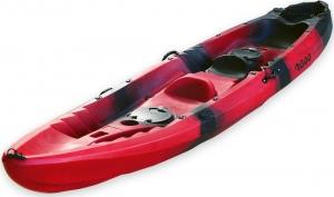 SCK Nereus RYM06-NR Red/Black θαλάσσιο καγιάκ 2+1 θέσεων - Κόκκινο/Μαύρο