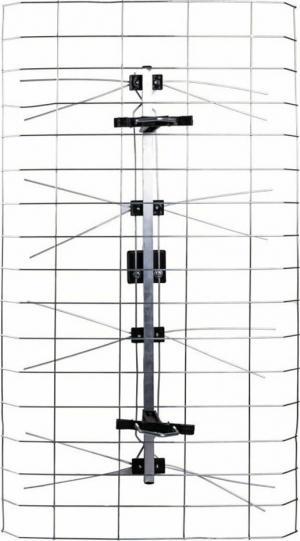Osio OTA-1015 Κεραία τηλεόρασης εξωτερικού χώρου πλέγμα 12 dB