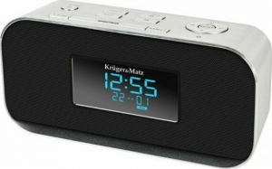 Kruger&Matz KM1150 Ραδιόφωνο - Ρολόϊ BLUETOOTH, AUX, USB