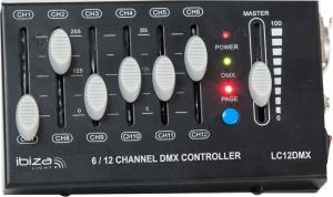 Ibiza LC12DMX Κονσόλα Φωτισμού Με 12 Κανάλια DMX