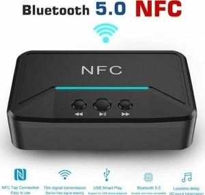 Andowl Q-T92 Ασύρματος Αναμεταδότης Ήχου Bluetooth / NFC v5.0