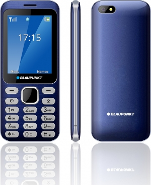 "BLAUPUNKT FL02 Κινητό τηλέφωνο με κάμερα 1,3 MP και LCD οθόνη 2,8"" – Μπλε"