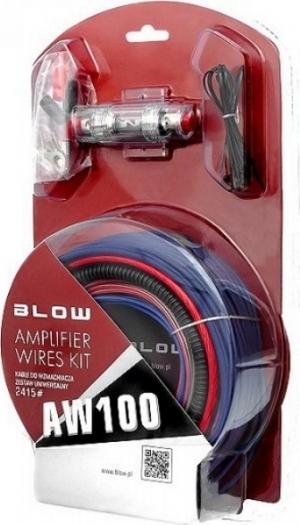 Blow AW-100 Σετ Καλώδια για ενισχυτή αυτοκινήτου.8AWG.