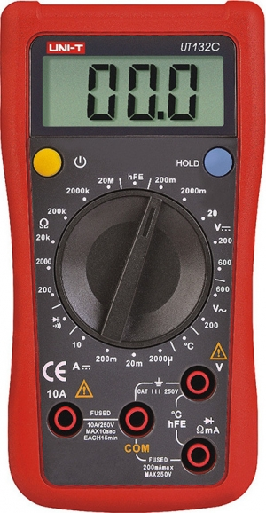 UNI-T UT132C. Ψηφιακό Πολυμετρο