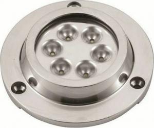 Υποβρύχιο Φωτιστικό Inox SS316 10-30V Φ90mm -White