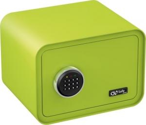 Olympia GOSAFE100 C GR Πράσινο Χρηματοκιβώτιο με ηλεκτρονική κλειδαριά 26 x 35 x 28 cm